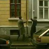 Two blind men cross paths