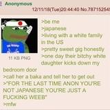 Anon is Japanese